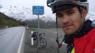 Fotografía de Carlos Mazón en el Passo del Bernina