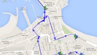 Ruta de biciconcierto de Herr Manos, 2014-04-22, 30 Días en Bici Gijón