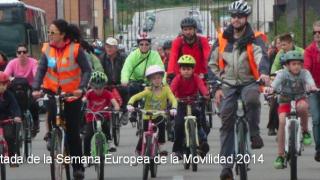 Bicicletada 30DEB por la Semana Europea de la Movilidad 2014