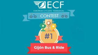 Premio de la European Cyclist Federation para 30DEB Gijón 2016 - 30 Días en Bici