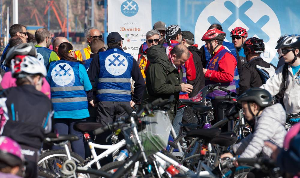 Foto de bicicletadas solidarias 30 Días para 30 Causas - 30 Días en Bici Gijón