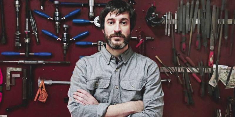 Foto del diseñador y constructor de bicicletas Andrés Arregui Velázquez - 30 Días en Bici Gijón