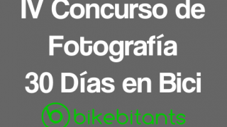 Banner Concurso de Fotografía 30 Días en Bici - 30 Días en Bici