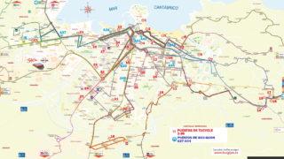 Mapa Intermodal 2018 mini