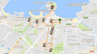 Ruta pola lliteratura n'asturianu - 30 días en bici Gijón