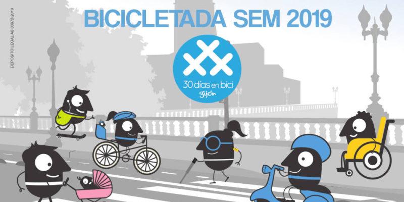 Semana Europea de la movilidad 2019 - 30 días en Bici Gijón