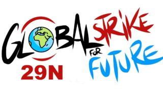 cartel 9N Huelga Mundial por el Clima - 30 Días en Bici