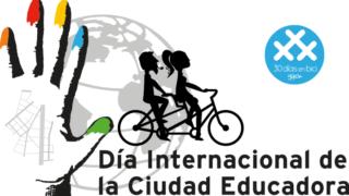 Día Internacional de la Ciudad Educadora en Gijón - 30 días en bici