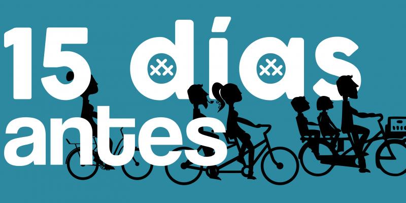 """Banner de """"La última Bicicletada de Marzo de 30 Días en Bici Gijón"""