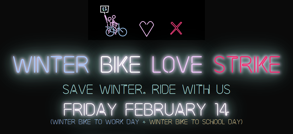 Winter Bike To Work Day 2020 - 30 Días en Bici