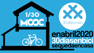 Banner del MOOC Unraveling the Cycling City - 30 días en bici