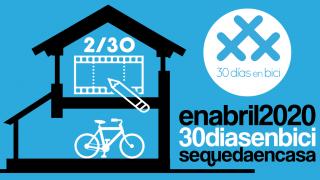 Banner del webinar «Ciclomensajerías y COVID-19, plan de choque» - 30 días en bici
