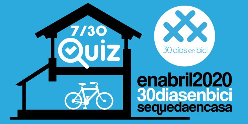Banner de QuizbiciBCN de 30 Dies amb Bici BCN - 30 días en bici