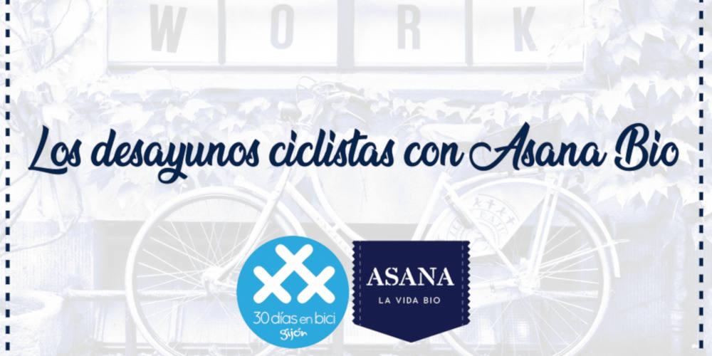 Banner Desayunos Ciclistas con Asana Bio - 30 Días en Bici Gijón