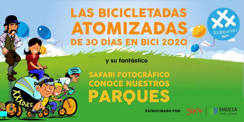 Banner de Las Bicicletadas Atomizadas 30DEB 2020