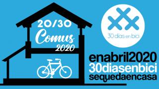 Banner de la Ponencia sobre 30DEB en COMUS 2020 - 30 días en bici