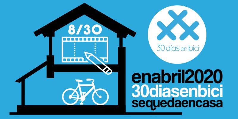 """Banner de Día 8 de #30díasenbici - webinar """"Mujeres Ciclistas"""" - 30 días en bici"""