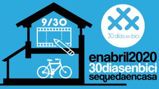 """Banner de Día 9 de #30díasenbici. Webinar """"Diseño de intersecciones y cruces seguros para todos los usuarios de las vías"""" - 30 días en bici"""