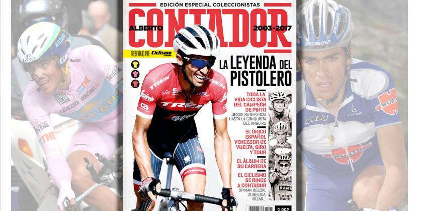Foto de Alberto Contador Día 13 de #30díasenbici. Un poco de literatura ciclista - 30 días en bici