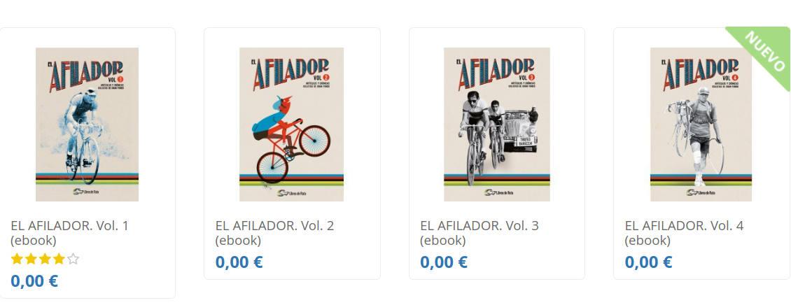 Foto de El Afilador. Día 13 de #30díasenbici. Un poco de literatura ciclista - 30 días en bici