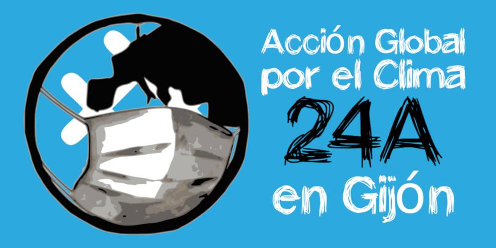 Banner Acción Global Por El Clima 24A en Gijón - 30 Días en Bici Gijón
