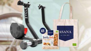 Foto del pack del final del sorteo Asana Bio! - 30 Días en Bici