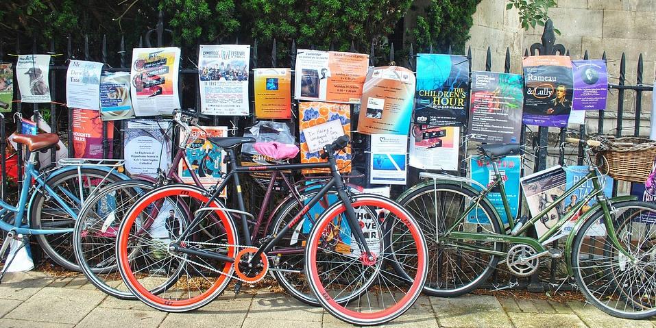 Foto de bibicletas Día 26 de #30diasenbici. webinar ciudades resistentes al cochismo