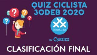 Banner Resultados Quiz Ciclista 30DEB 2020 - 30 días en bici