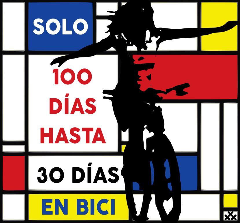 Imagen inspirada en Mondrian 10 días para 30 Días en Bici en septiembre 2020 - 30 Días en Bici