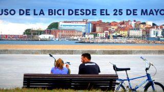 Foto de bicicletas en Gijón - Uso de la bicicleta desde el LUNES 25 de mayo - 30 Días en Bici