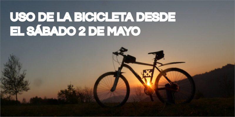 fOTO DE BICICLETA Uso de la bicicleta desde el sábado 2 de mayo - 30 Días en Bici