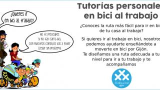 Banner Tutorías individuales para ir en bici al trabajo - - 30 Días en Bici Gijón
