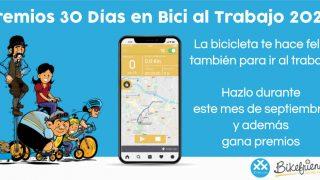 Banner destacado de los Premios 30 Días en Bici al Trabajo 2020