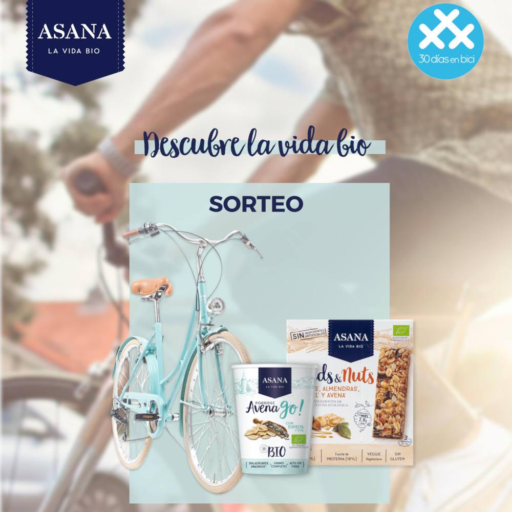 Banner ¡Participa en el sorteo de Asana Bio y gana esta bici de paseo vintage Capri! - 30 Días en Bici