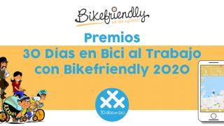 Imagen destacada fallo de los Premios 30 Días en Bici al Trabajo con Bikefriendly 2020
