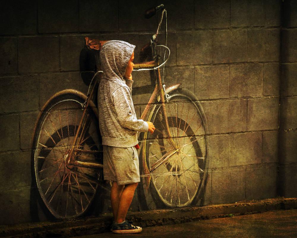 Hasta en pintura gusta - Fotos Premiadas en el Concurso de Fotografía 30 Días en Bici con Ciclosfera 2020