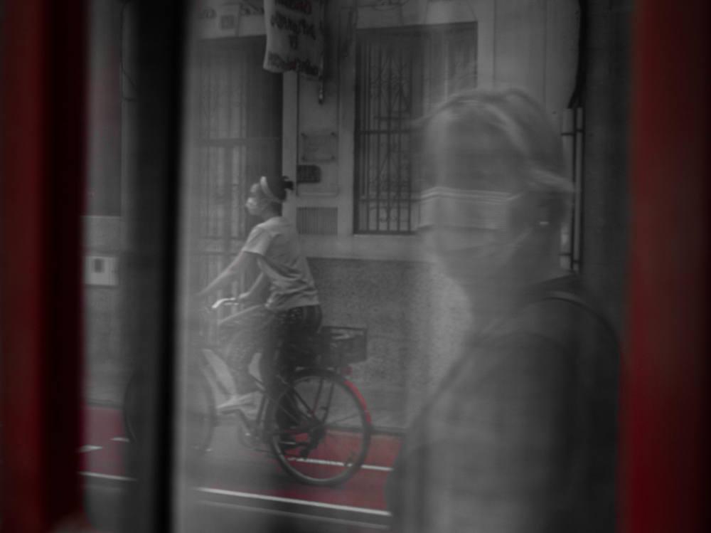 Reflejos ciclistas - Amanda Nieves González Santana - Fotos Premiadas en el Concurso de Fotografía 30 Días en Bici con Ciclosfera 2020