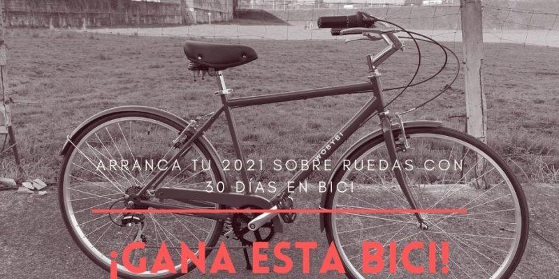 """foto de la bicicleta del sorteo """"Arranca tu 2021 sobre ruedas con 30 Días en Bici"""""""