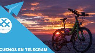 """fotografía """"Atardecer en el cerro Almodóvar"""" Nuevo canal de Telegram de 30 Días en Bici"""