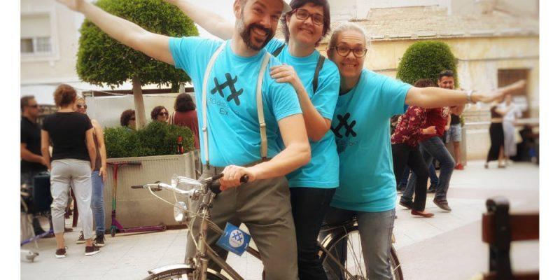 """Foto de 30DEB Elche por Cristina Peñalver Tari - """"La bici de nuestra familia"""" Un Compromiso por #ElDobledeBicis - 30 Días en Bici 2021"""