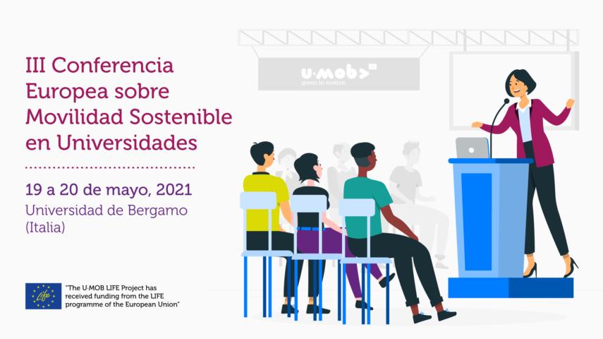 Banner conferencia Bérgamo 2021 - 30 Días en Bici se integra en la red u-mob life