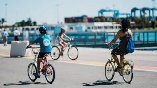 Foto de ciclistas en 30 Días en Bici Valencia